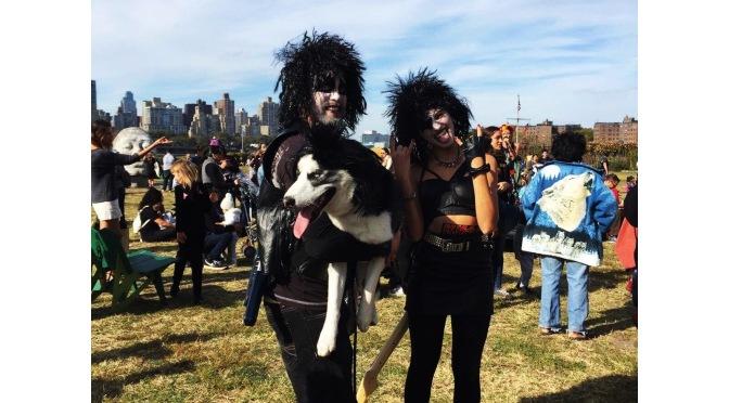 Le festival d'Halloween au Socrates Sculpture Park