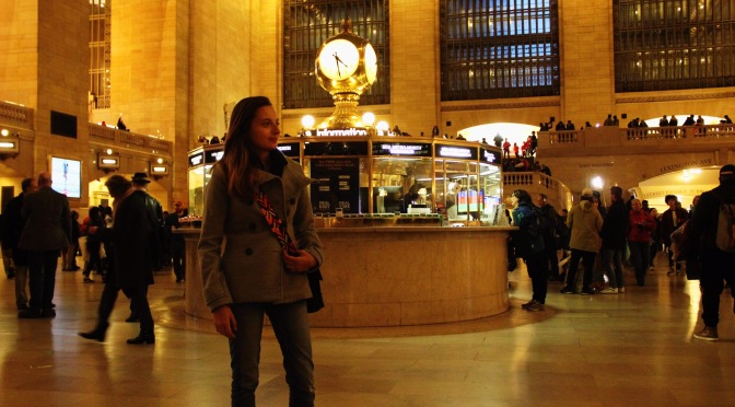 Take a walk in Grand Central Terminal