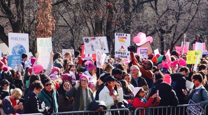 New York Women's march 2018