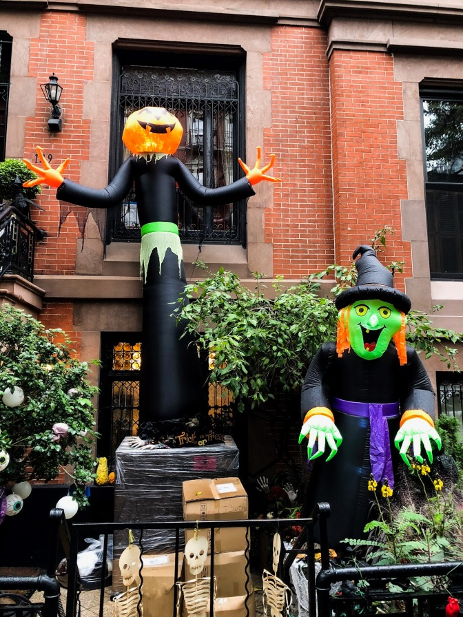 Les Décorations d'halloween – NYC 2018