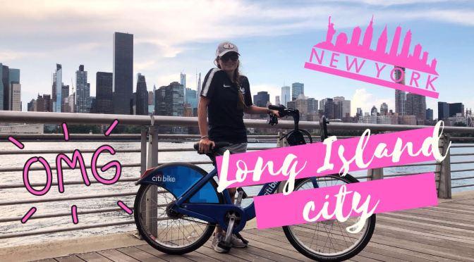 2 MIN POUR DECOUVRIR LONG ISLAND  CITY à vélo